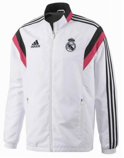178ac08ac31bd Real Madrid Chaqueta Blanca 14 15